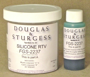 Douglas and Sturgess: Food Grade Silicone Rubber, 1 lb