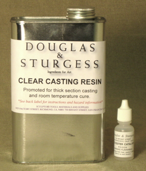 Clear Casting Resin, 1 Quart