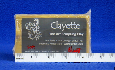 Chavant Clayette Soft, 1/2 Case