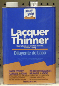 Lacquer Thinner, 5 Gallon